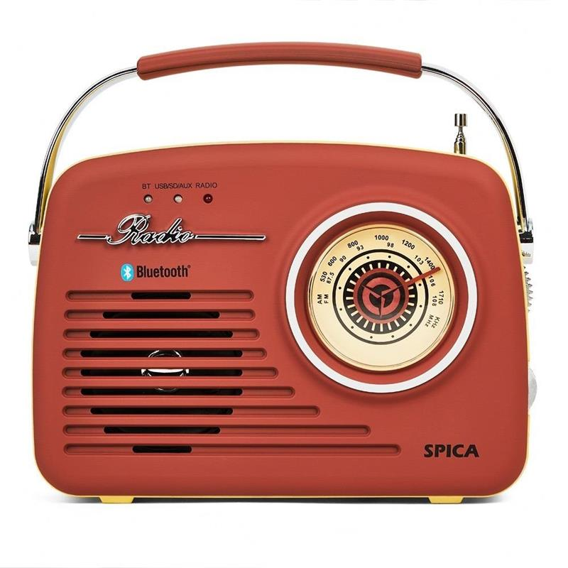 RADIO BLUETOOTH SPICA RETRO SP-110R