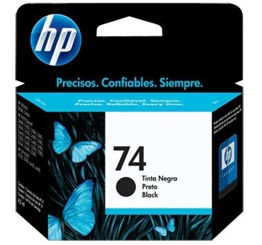CARTUCHO HP 74 NEGRO 6ML