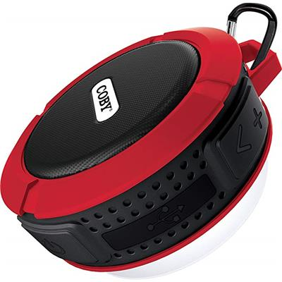 PARLANTE BLUETOOTH COBY RUGGED GEAR CSBT-328 ROJO IPX5