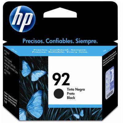 CARTUCHO HP ORIGINAL 92 NEGRO