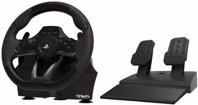 VOLANTE Y PEDALES RACING WHEEL APEX HORI PARA PS3 PS4 PC