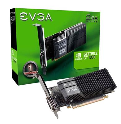 PLACA DE VIDEO GEFORCE GT1030 EVGA DDR5 2G