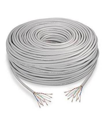 CABLE DE RED UTP CAT 6E P/METRO
