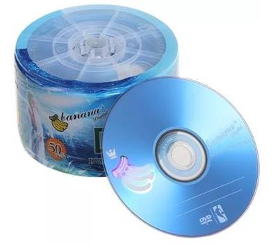 DVD-R ESTAMPADO BANANA DIGITAL 4.7GB 16X