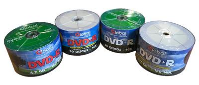 DVD VIRGEN -R  GLOBAL FULLPRINT 4.7GB 120M 8X