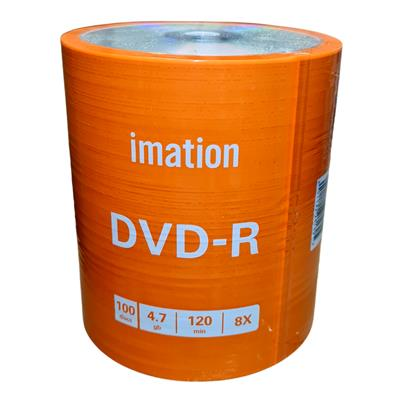 DVD IMATION ESTAMPADO -R BULK100