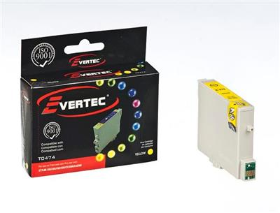 CARTUCHO EVERTEC EPSON T0474 AMARILLO
