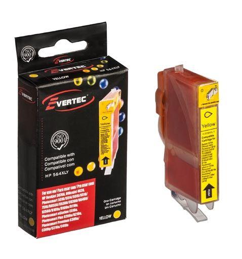 CARTUCHO EVERTEC HP 564 AMARILLO