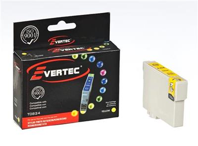 CARTUCHO EVERTEC EPSON 824 AMARILLO T50