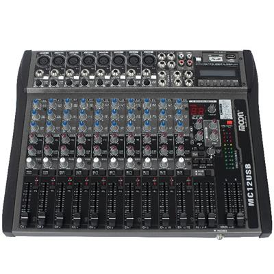 CONSOLA PROFESIONAL 12 CANALES WORKSTATION MOON MC12