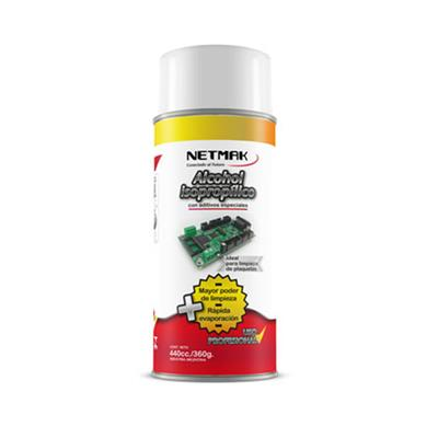 ALCOHOL ISOPROPILICO NETMAK 360G