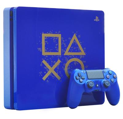 CONSOLA PLAYSTATION 4 SLIM 1TB AZUL EDICION LIMITADA PS4