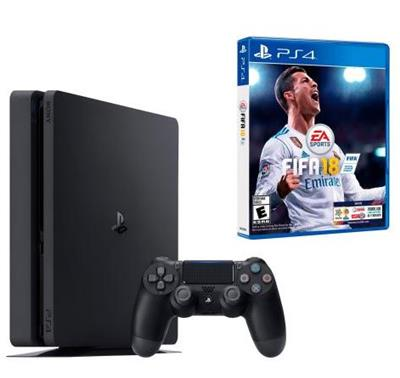 CONSOLA PLAYSTATION 4 SLIM 1T + FIFA2018