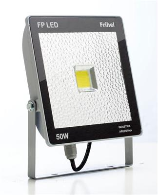 REFLECTOR LED 50W FRIHEL IP65 LUZ FRIA FULL EXPECTRO