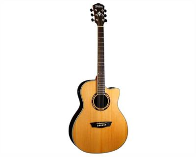 GUITARRA ELECTROACUSTICA WASHBURN AG70CE0 NATURAL ((LEER DESCRIPCION))