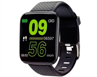 SMART WATCH GTC NEGRO ANDROID IOS BLUETOOTH