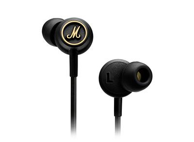 AURICULAR MARSHALL MODE IN EAR NEGRO CON MIC
