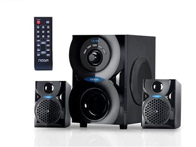 Parlantes Noganet SPARK Home theater bluetooth Sd USB Fm 2.1