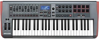 TECLADO CONTROLADOR MIDI NOVATION IMPULSE 49 USB