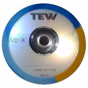 DVD VIRGEN TEW LOGO ESTAMPADO